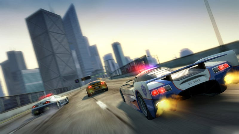 Illustration for article titled Burnout Paradise Cops And Robbers Micro-Review