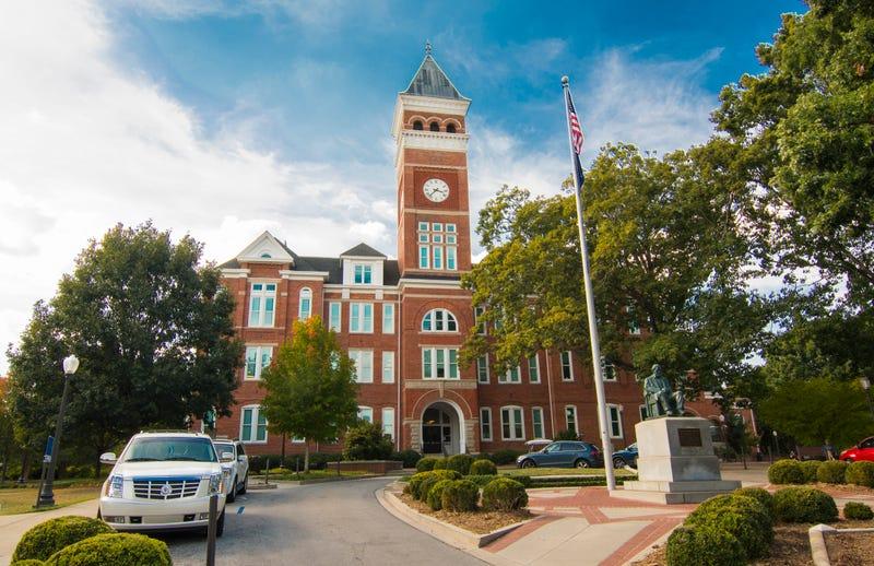 Tillman Hall at Clemson University, Clemson, S.C.