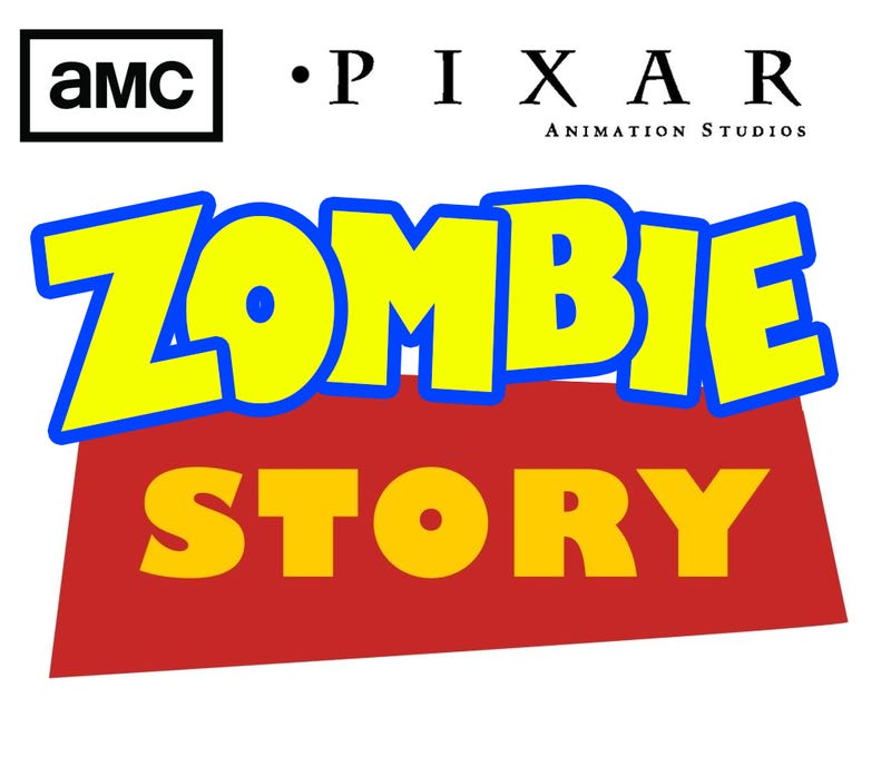 "Illustration for article titled ""Zombie Story"": AMC's The Waking Dead is a poor plastic man's Toy Story!"