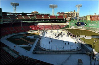 Illustration for article titled Free Skating At Fenway? It'll Cost You