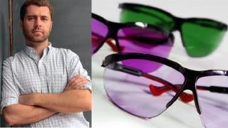 Illustration for article titled How Mark Changizi conquered colorblindness with glasses