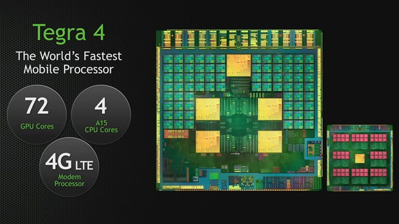 Illustration for article titled Oh Yeah, Nvidia Also Officially Outs the World's Fastest Mobile Processor