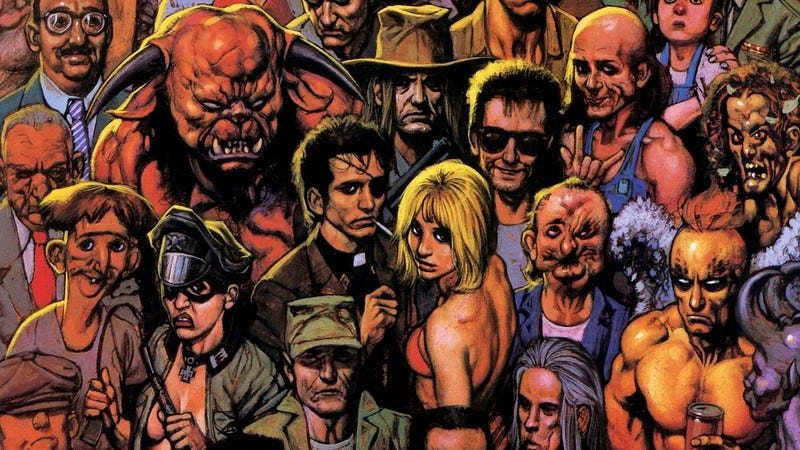 Illustration for article titled Seth Rogen tweeted the first picture from the set of AMC's Preacher