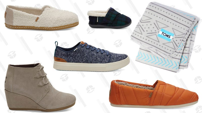 Free Blanket With $125 Purchase   TOMS   Promo code BLANKET