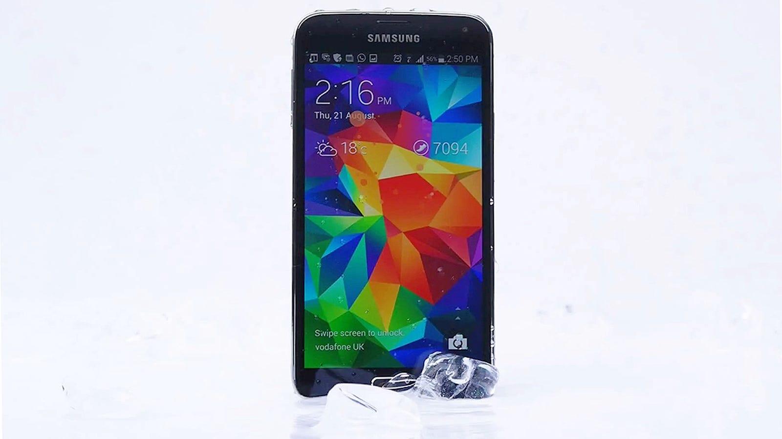 Samsung aprovecha el #icebucketchallenge para burlarse del iPhone
