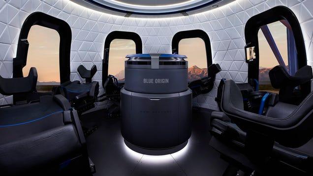 Blue Origin Announces Launch Date for First Crewed Flight of New Shepard