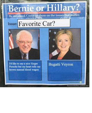 Illustration for article titled Bernie vs Hillary on the real issues