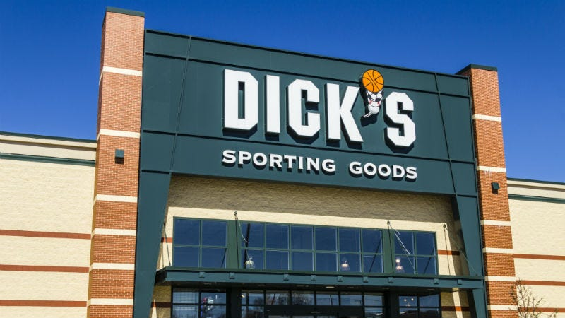 Illustration for article titled Dick's Sporting Goods Will Stop Selling Assault-Style Rifles and High Capacity Magazines