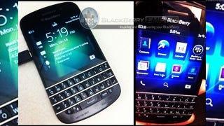 Illustration for article titled La esperanza de RIM: se filtran imágenes del nuevo Blackberry X10 con teclado