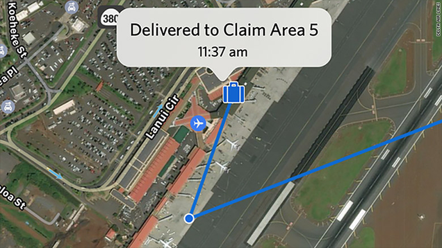 Delta App Lets Passengers Track Their Luggage In Real