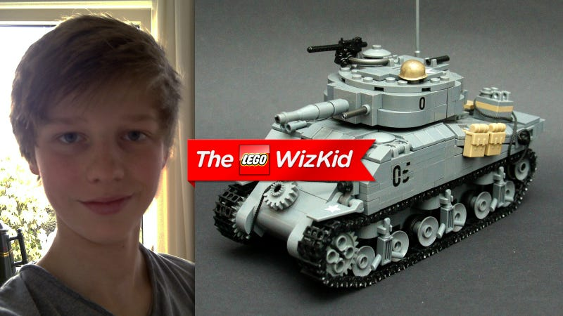 Illustration for article titled This 14-Year-Old Kid Is a Lego Genius