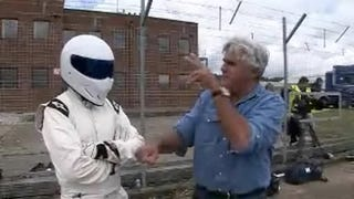 Illustration for article titled Jay Leno Meets The Stig