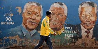 Nelson Mandela mural in Soweto (Chip Somodevilla/Getty Images)