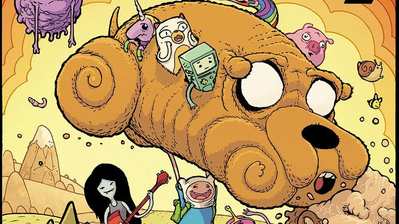 Illustration for article titled Kaboom! exclusive: Adventure Time Comics invites industry vets and rising stars to Ooo