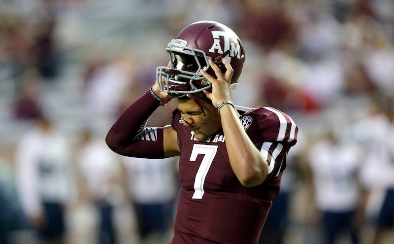 Illustration for article titled The Kenny Hill Era Is Over At Texas A&M