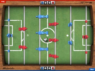 Illustration for article titled This App Turns Your iPad Into A Touchscreen Foosball Table