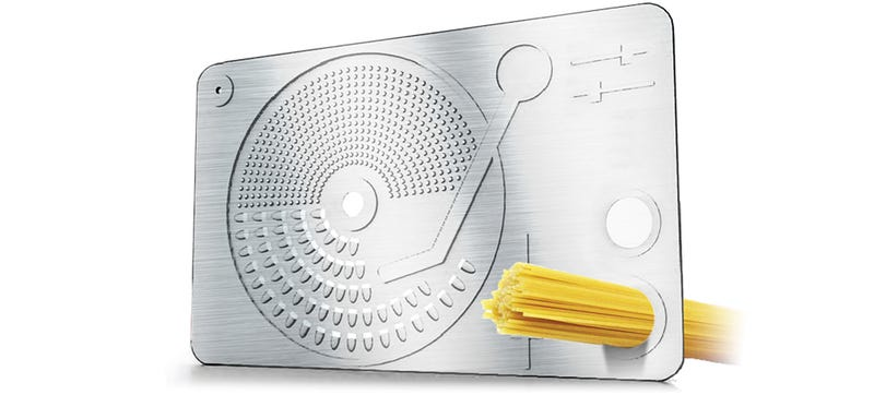 Illustration for article titled Make Meals from Scratch Using This Turntable Grater