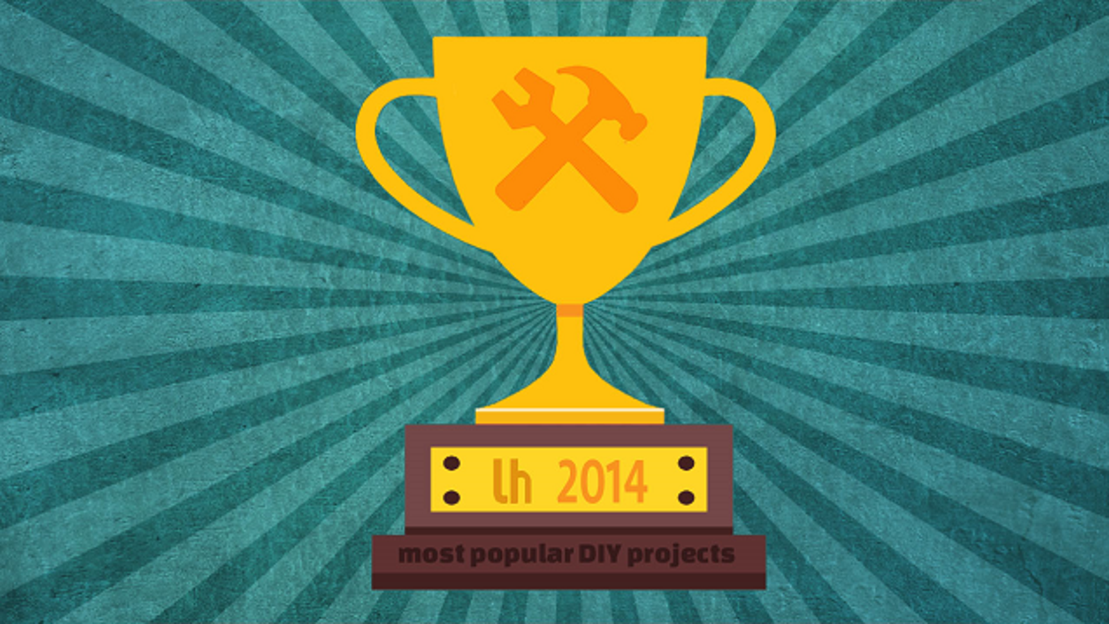 Most popular diy projects of 2014 for Most popular diy crafts