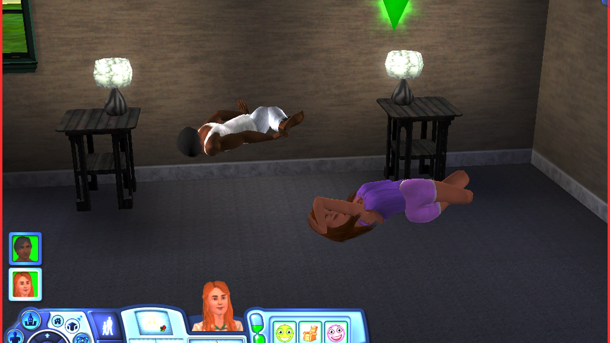 Sims 2 sex coffee table