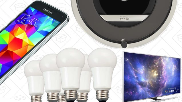 Today's Best Deals: LED Bulbs, High-End Roomba, Samsung Gear, and More