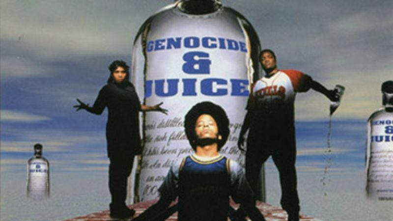 Illustration for article titled The Coup:Genocide & Juice