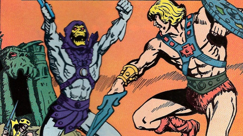 Illustration for article titled Skeletor, Why Are Your Arms So Tiny?