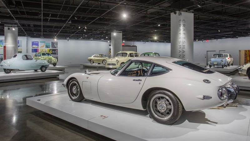 Illustration for article titled Check Out The Incredible And Rare Japanese Cars At The Petersen Museum Now