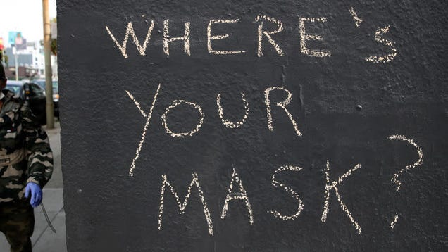 How Do You Deal With People Who Aren t Wearing Masks?