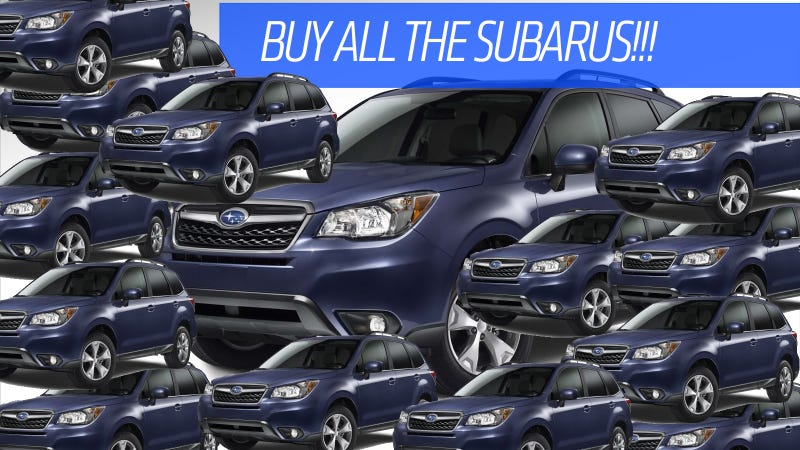 Illustration for article titled How America Got Its Crazy Crack-Like Addiction To Buying Subarus