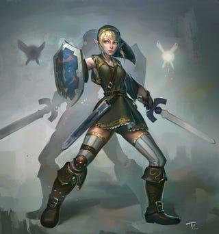 Illustration for article titled Lady Link?