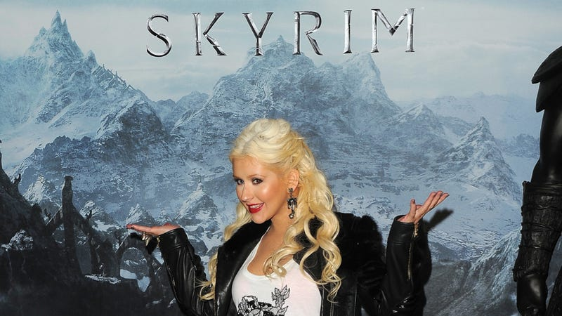 Illustration for article titled Hollywood's Skyrim Party. This Is It