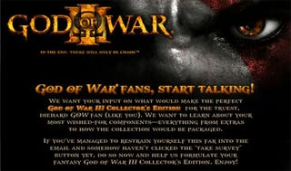 Illustration for article titled God of War III Survey Hints At PS2 Games On Blu-ray
