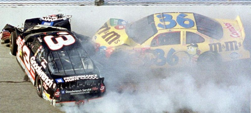 Dale Earnhardt Sr Crash Photos Inside Car