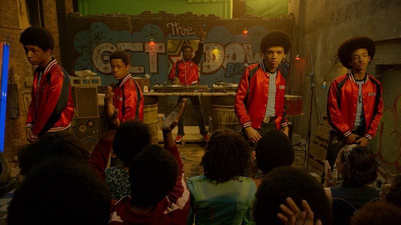 Illustration for article titled The Get Down gets even more over-the-top in its midseason finale