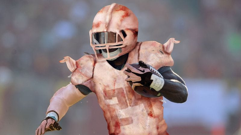 Illustration for article titled University Of Oregon Debut Controversial Fly-Ridden Duck Flesh Uniforms