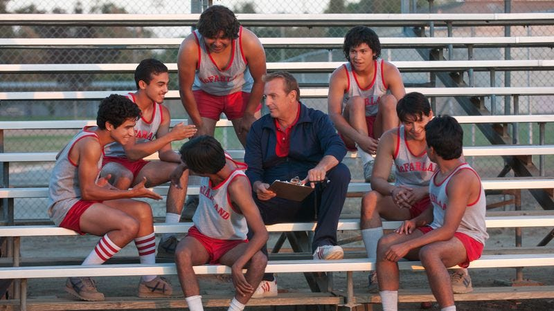 Illustration for article titled Disney's McFarland, USA is an inspirational sports movie that rarely inspires