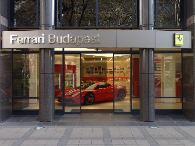 Illustration for article titled Ferrari Budapest