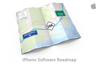 Illustration for article titled Apple Event for the iPhone SDK: March 6th