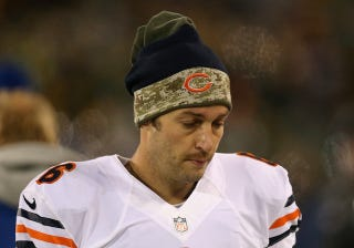 Illustration for article titled Let The Burning Of The Jay Cutler Jerseys Begin