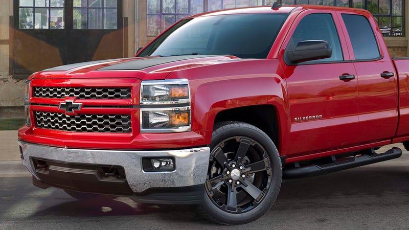 2015 Chevy Silverado Gets Big Wheels & Racing Stripes As Factory Options