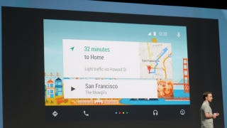 Illustration for article titled Google's Domination Of Your Dash Starts With Android Auto