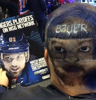 Illustration for article titled This Is Not A Good Haircut, Hockey Fan