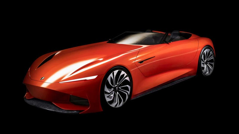 Illustration for article titled Karma Automotive's SC1 Vision Is Coming To Pebble Beach In All Its Technological Glory