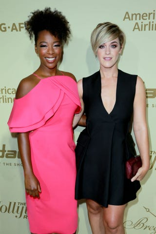 Samira Wiley and Lauren Morelli (Rich Fury/Getty Images)