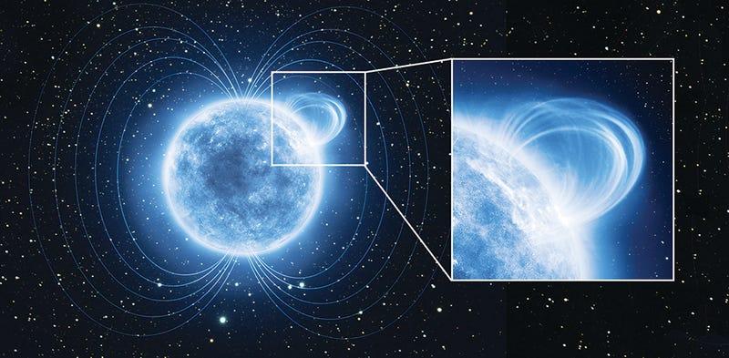 Esta estrella emite una de las radiaciones más potentes del universo