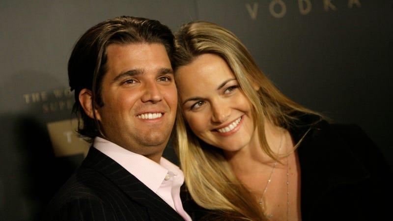 Donald Trump Jr. and Vanessa Trump at a Trump Vodka launch party in 2007. Image via the AP.