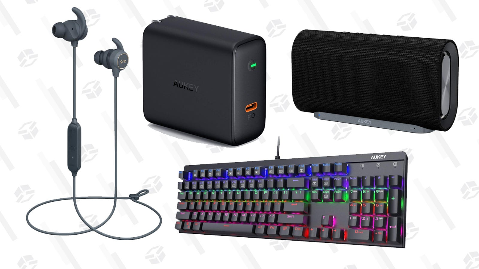 Get Yourself a Ton of Discounted Aukey Gear With This One-Day Sale