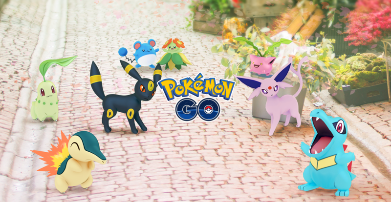 Pokémon Go's Introducing 80 New Pokémon