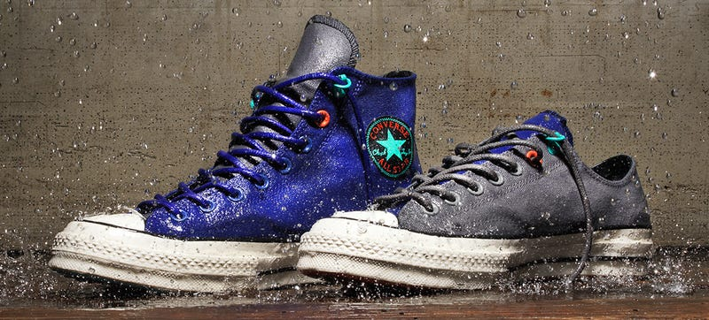 Illustration for article titled Finally, a Pair of Waterproof Chucks That'll Survive a Soaking