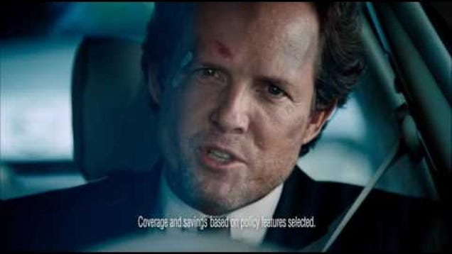 an analysis of the mayhem campaign commercial by allstate Allstate began releasing their 'mayhem' commercials several years ago, and they  received quite a bit of attention and praise for the level of.